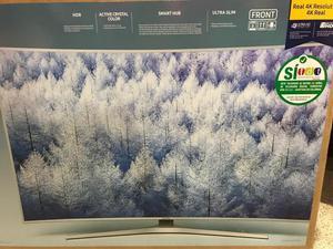Oferta Televisor Samsung Curvo 55 4k Sma