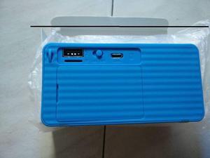 REPRODUCTOR X3 NUEVO EN CAJA USB MICROSD RADIO FM BLUETOOTH