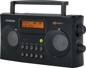 Radio Sangean Hdr-16 Hd Radio/fm/am Portátil