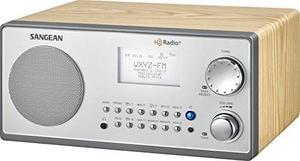 Radio Sangean Hdr-18 Hd Radio/fm-stereo/am Cabina De Madera