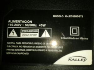 Tv Kalley Kled32hdst2 para Repuesto