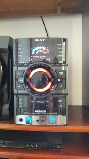 Vendo Equipo de Sonido Sony Genezi