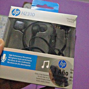 Audifonos Hp In Ears Manos Libres
