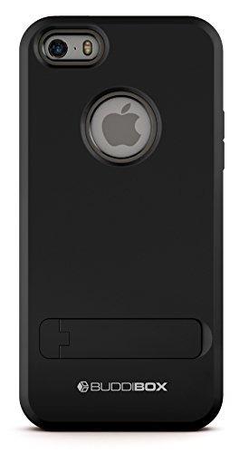 Buddibox Iphone 5s Caso, [escudo] Slim Doble Capa Funda