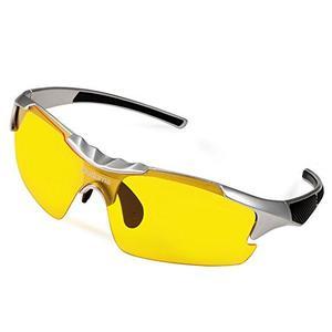 Duduma Naranja Visión Nocturna Polarizada Gafas De Sol