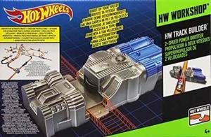 Hot Wheels Track Builder 2 Velocidades Power Booster Accesor