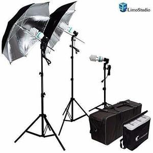 Kit Luces Estudio Fotografía Limostudio 600w + Envio Gratis