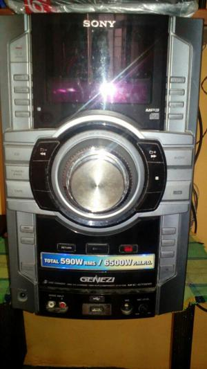 Minicomponente Sony Genezi