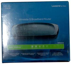 Router Inalámbrico Linksys Wrt54g2 De Banda Ancha G