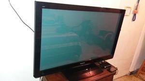 Vendo Tv Plasma Panasonic Viera 42 Encimo Base Para Pared.