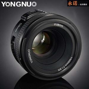 Yn50mm 1.8 Para Nikon (dx-fx)+bolsa De Transporte+envio