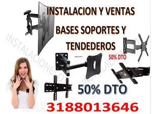 instalacion y venta de bases soportes y tendederos de ropa