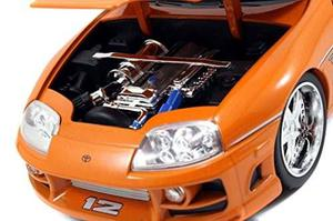 Carro De Juguete Jada Toyota Supra Naranja Rapido Posot Class