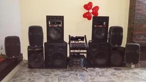 Equipo de sonido profesional.