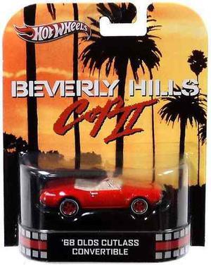 Hot Wheels Retro Beverly Hills Cop Ii 1:55 Die !