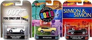Hot Wheels Retro Entretenimiento Convertible Collection -...