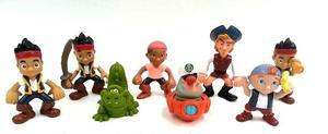 Jake Y Los Piratas Colección X 8 Figuras