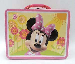 Mickey Mouse Minnie Mouse Lonchera Retro Tin Box Co