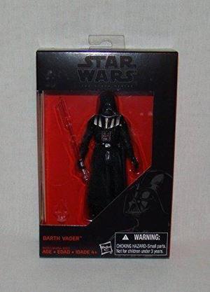 Star Wars, El  Serie Negro, Figura De Acción 3,75