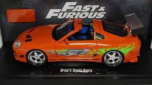 Toyota Supra Rapido Y Furiosos F&f Escala 1:18 Jada