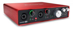 interface de sonido focusrite scarlett 6i6 nuevesita de