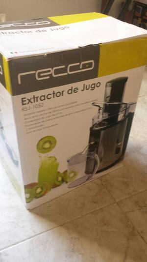 Extractor de Jugos Recco