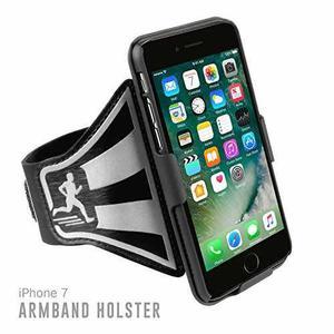 Forro De Brazo Para Iphone 7 Golemguard Ligero Color Negro