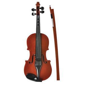 Juguete De Violín Electrónico De Madera - Instrumento