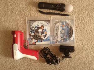 Playstation 3 Move Bundle W / Deportes De Campeones De Jueg