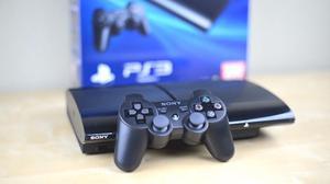 Ps3 Play 3 Super Slim 320 Gb Nueva+fifa Juegos