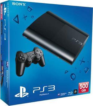 Ps3 Play 3 Super Slim 500 Gb Nueva+fifa Juegos Garantia