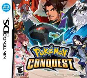 Video Juego Para Nintendo Ds Pokemon Conquest