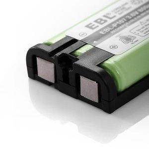 3pack Teléfono Batería Para Panasonic Hhr-p107 Hhrp107