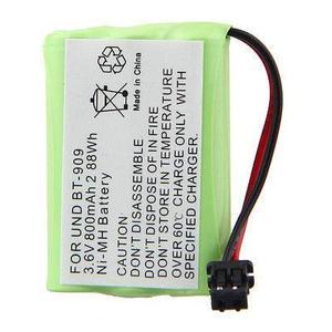 800 Mah 3.6v Batería De Repuesto Para Uniden:bt Bt-