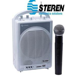 Amplificador Portátil De 50 Watts Pmpo, Con Micrófono