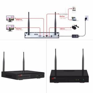 Anran 8ch 720p Hd Wifi Nvr Kit 8pcs 1.0mp Wireless Ir Cámar