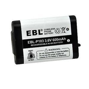 Batería Del Teléfono 2pack Para Panasonic Hhr-p103 Hhrp103