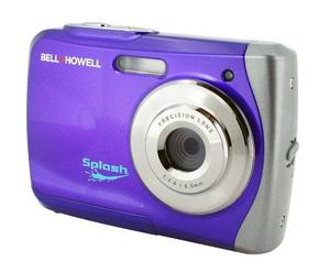 Cámara Bell+howell A Prueba De Agua Púrpura