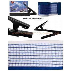 Malla Para Tenis De Mesa Azul Post Suit