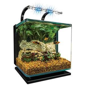 Marineland Contour Glass Acuario Kit Con Luz De Carril, 3...