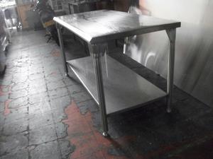 Mesas en acero inoxidable cali posot class for Freidoras a gas medellin