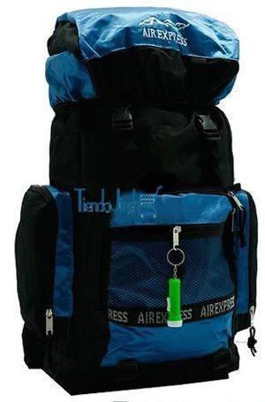 Morral Camping Airexpress 55 A 60 Litros Original Lona