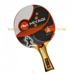 Raqueta Para Tenis De Mesa Tres Estrellas Miyagi