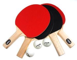 Stiga Classic 4-player Mesa De Ping Pong Racket Set