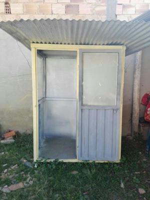 Caseta stand para exterior posot class for Vendo caseta metalica