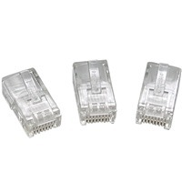 Conectores Rj45 Categoria 5 Marca Qpcom X100