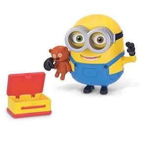 Figura De Acción Minions Bob Con Oso De Peluche
