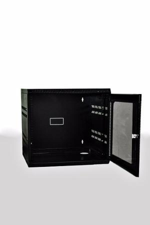 Gabinete Rack De Pared 7ru X40 Puerta Metalica 39x52x40