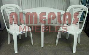 Vendo sillas plasticas economicas posot class - Mesas y sillas plastico ...