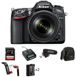 Nikon D Dslr Camera Video Production Kit With mm F